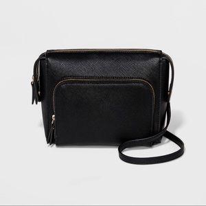 Cargo Crossbody Bag Black